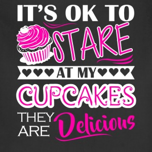 Cupcakes Delicious Shirt - Adjustable Apron