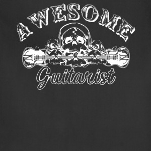 Awesome Guitarist Shirt - Adjustable Apron
