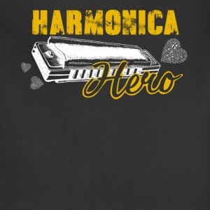 Harmonica Hero Shirt - Adjustable Apron