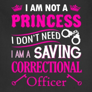 I Am A Correctional Officer Shirt - Adjustable Apron
