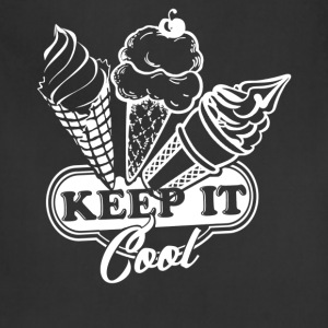 Ice Cream Shirt - Adjustable Apron