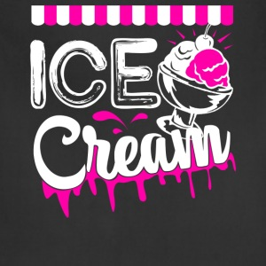 Ice Cream T shirt - Adjustable Apron
