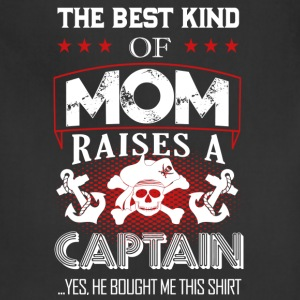 Captain Mom Shirt - Adjustable Apron