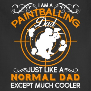 Paintballing Dad Shirt - Adjustable Apron