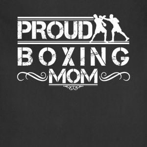 Proud Boxing Mom Shirt - Adjustable Apron