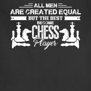 Best Men Become Chess Player Shirt - Adjustable Apron