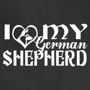 Love My German Shepherd Shirt - Adjustable Apron