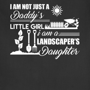 Landscaper Daughter Shirt - Adjustable Apron