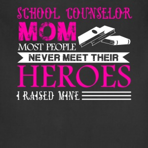 School Counselor Mom Shirt - Adjustable Apron