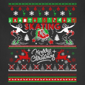 Skating Shirt - Skating Christmas Shirts - Adjustable Apron