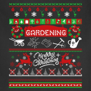 Gardening Shirt - Gardening Christmas Shirt - Adjustable Apron