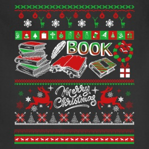Book Shirts - Book Christmas Shirt - Adjustable Apron