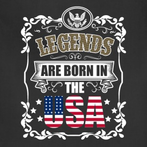 Legends are born in the USA - Adjustable Apron