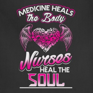 Nurses Heal The Soul - Adjustable Apron