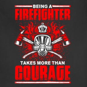 Firefighter Courage - Adjustable Apron