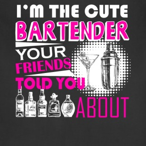 Cute Bartender Shirt - Adjustable Apron