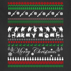 Army Mom Shirt - Army Mom Christmas Shirt - Adjustable Apron
