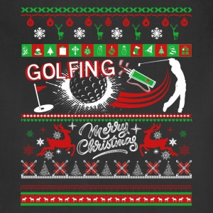 Golfing Shirts - Golfing Christmas Shirts - Adjustable Apron