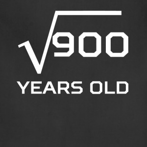 Square Root 900 Funny 30 Years Old 30th Birthday - Adjustable Apron