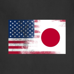 Japanese American Half Japan Half America Flag - Adjustable Apron