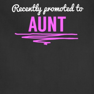 Recently Promoted To Aunt - Adjustable Apron