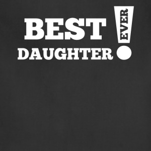 Best Daughter Ever Exclamation Point Cool Family - Adjustable Apron