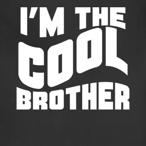 Retro I'm The Cool Brother Funny - Adjustable Apron