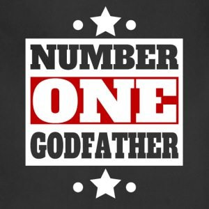 Number One Godfather Retro Style Family - Adjustable Apron