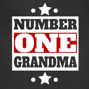 Number One Grandma Retro Style Grandparent's Day - Adjustable Apron