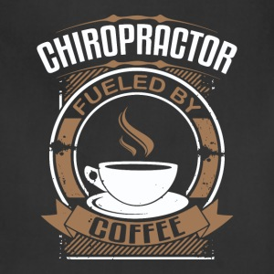 Chiropractor Fueled By Coffee - Adjustable Apron