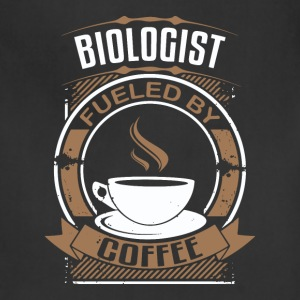 Biologist Fueled By Coffee - Adjustable Apron