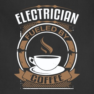 Electrician Fueled By Coffee - Adjustable Apron