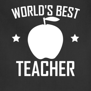World's Best Teacher - Adjustable Apron