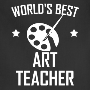 World's Best Art Teacher - Adjustable Apron