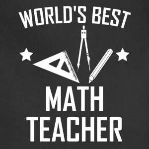 World's Best Math Teacher - Adjustable Apron