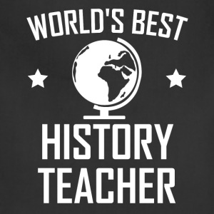 World's Best History Teacher - Adjustable Apron