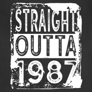 Gift for 30th Birthday Party: Straight Outta 1987 - Adjustable Apron