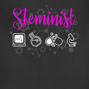 Steminist Female Scientists March - Adjustable Apron