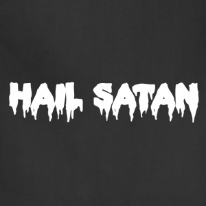 Hail Satan Dripping Text - Adjustable Apron