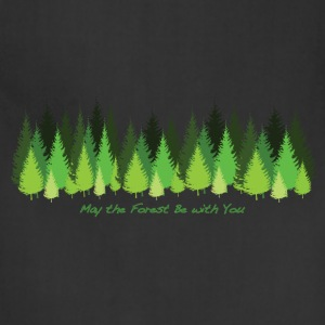 May the Forest Be with You - Adjustable Apron