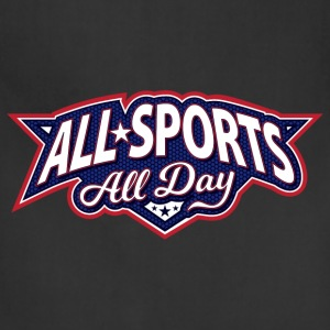 All Sports All Day Logo - Adjustable Apron