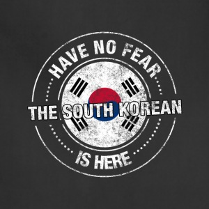 Have No Fear The South Korean Is Here - Adjustable Apron