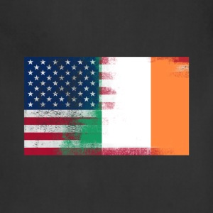 Irish American Half Ireland Half America Flag - Adjustable Apron
