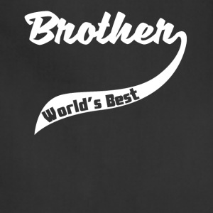 Retro World's Best Brother - Adjustable Apron