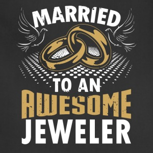 Married To An Awesome Jeweler - Adjustable Apron