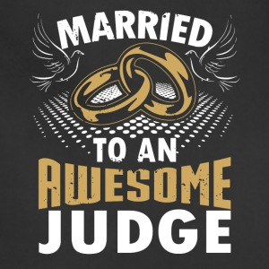 Married To An Awesome Judge - Adjustable Apron