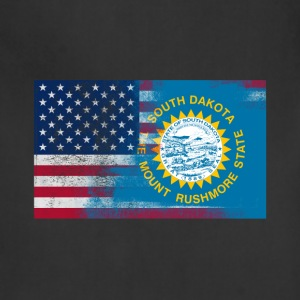 South Dakota American Flag Fusion - Adjustable Apron