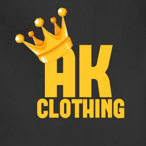AK CLOTHING BLACK & GOLD - Adjustable Apron