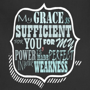 My Grace is Sufficent For You Design - Adjustable Apron