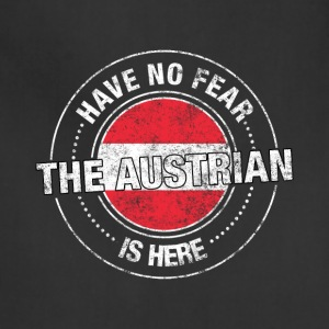 Have No Fear The Austrian Is Here - Adjustable Apron